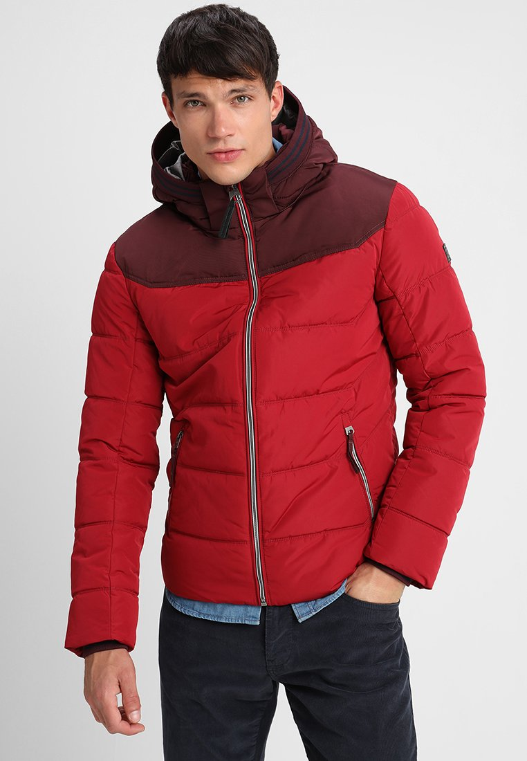 TOM TAILOR - PUFFER FUNCTIONAL - Light jacket - ivy red