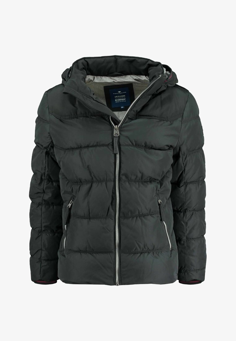 TOM TAILOR - PUFFER FUNCTIONAL - Übergangsjacke - black