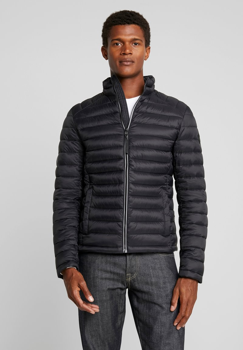 TOM TAILOR - LIGHT WEIGHT JACKET - Light jacket - black/grey