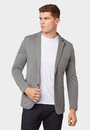 Blazer jacket - dark grey melange