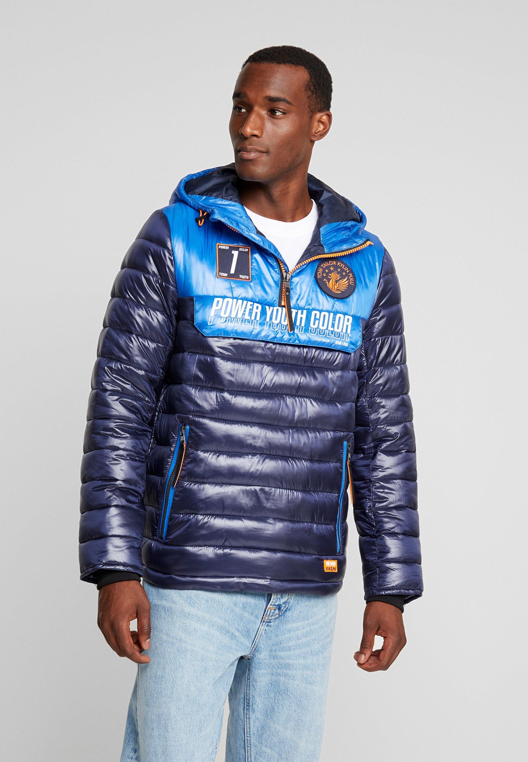 Blue Captain Mi Sky Tom blue saison PufferVeste Tailor kn80wPO