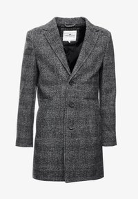 TOM TAILOR - WOOL COAT IUTTONS - Krótki płaszcz - black/grey - 4