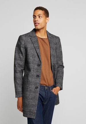 WOOL COAT IUTTONS - Kurzmantel - black/grey