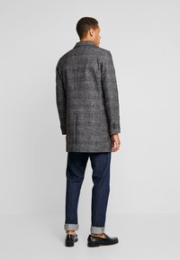 TOM TAILOR - WOOL COAT IUTTONS - Krótki płaszcz - black/grey - 2