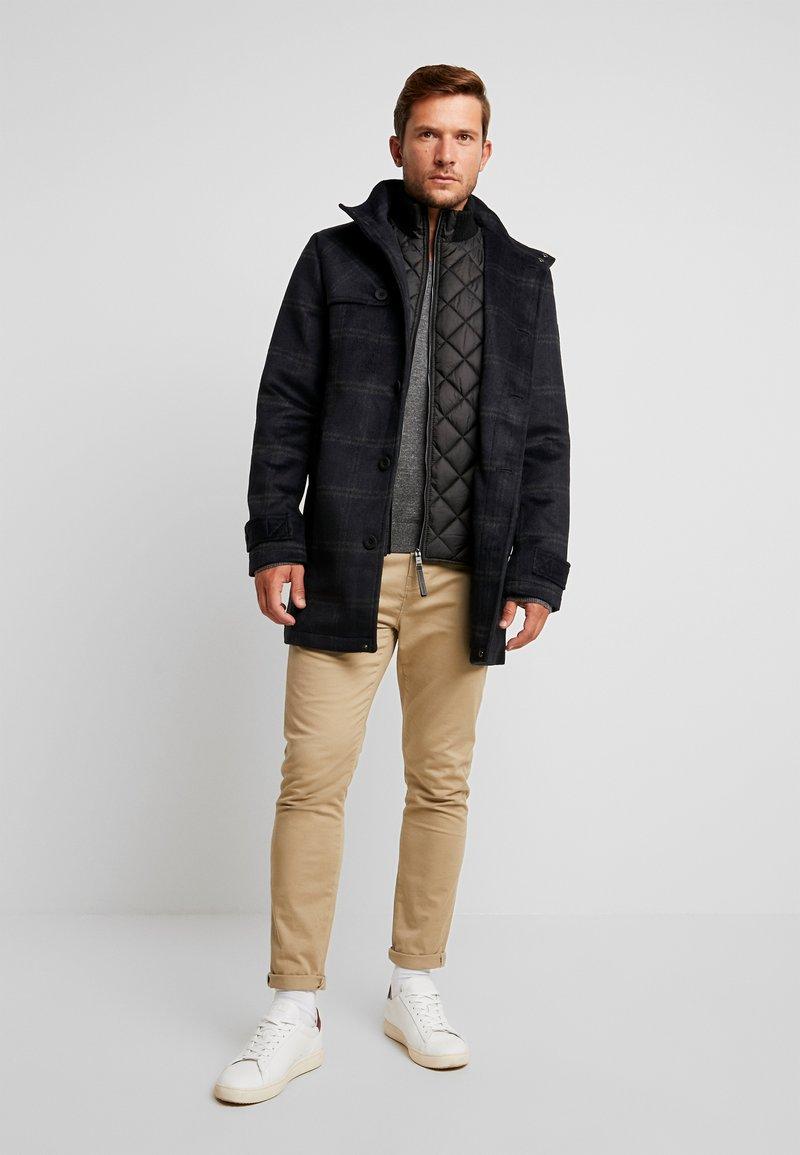 TOM TAILOR - 2 IN 1 - Zimní kabát - blue