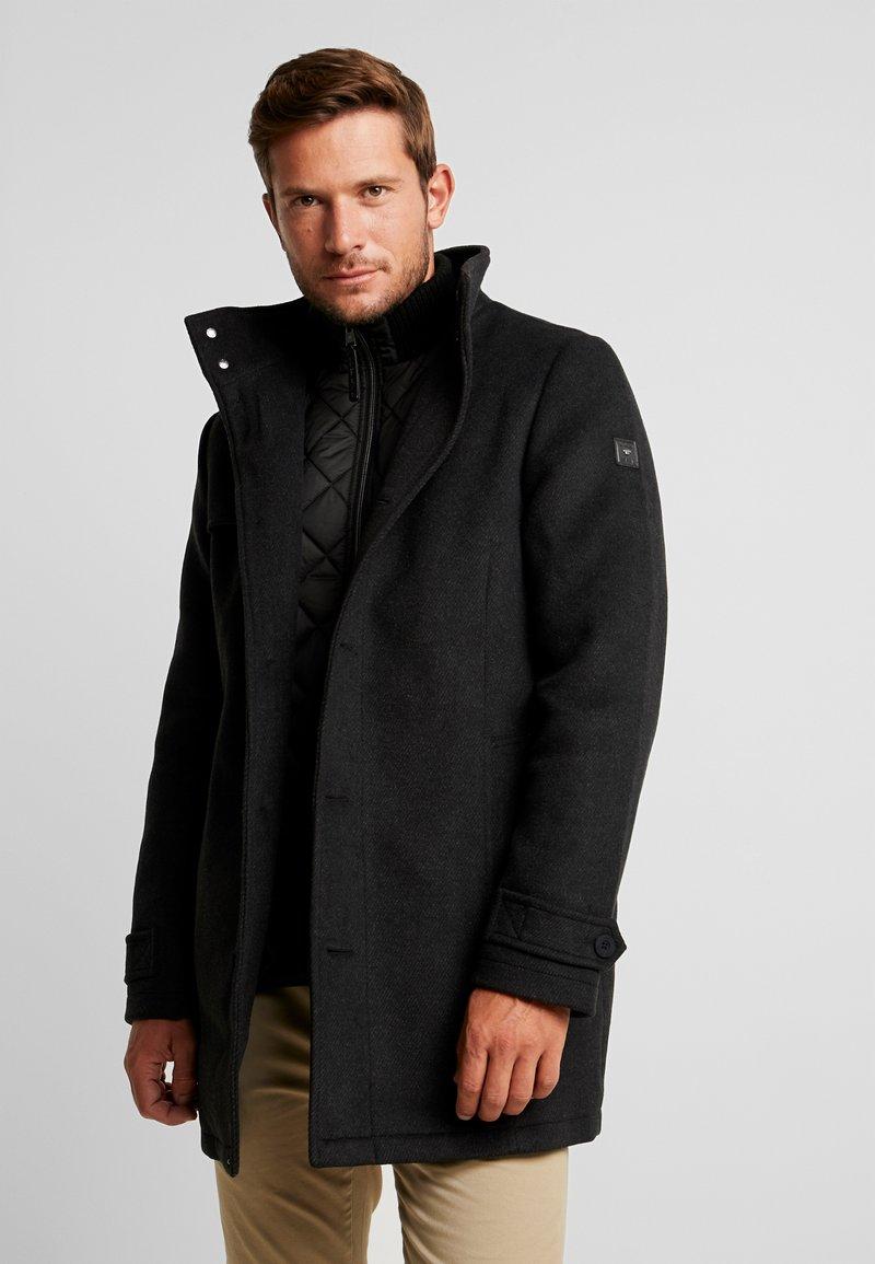 TOM TAILOR - 2 IN 1 - Classic coat - black/grey