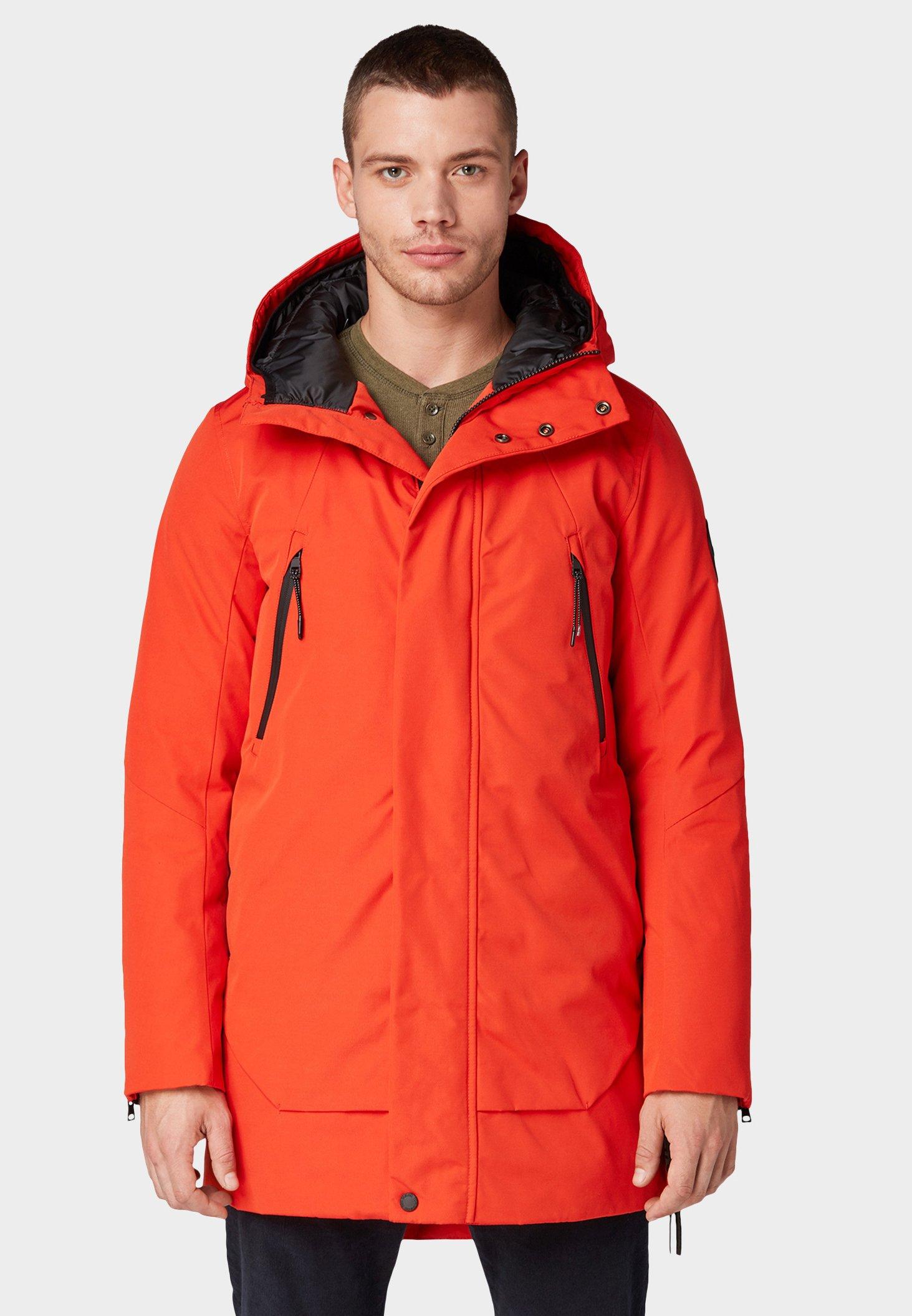 A basso costo Abbigliamento da uomo TOM TAILOR Parka orange