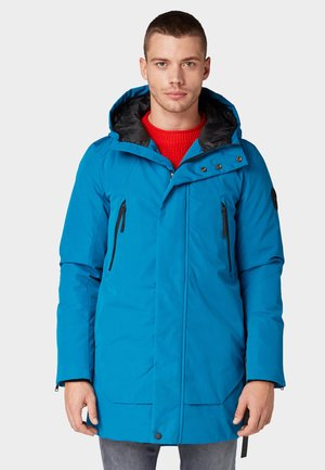 Parka - greek blue
