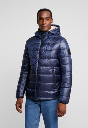 Zimní bunda - sky captain blue