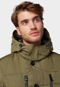 TOM TAILOR - PUFFER  - Giacca invernale - olive - 3