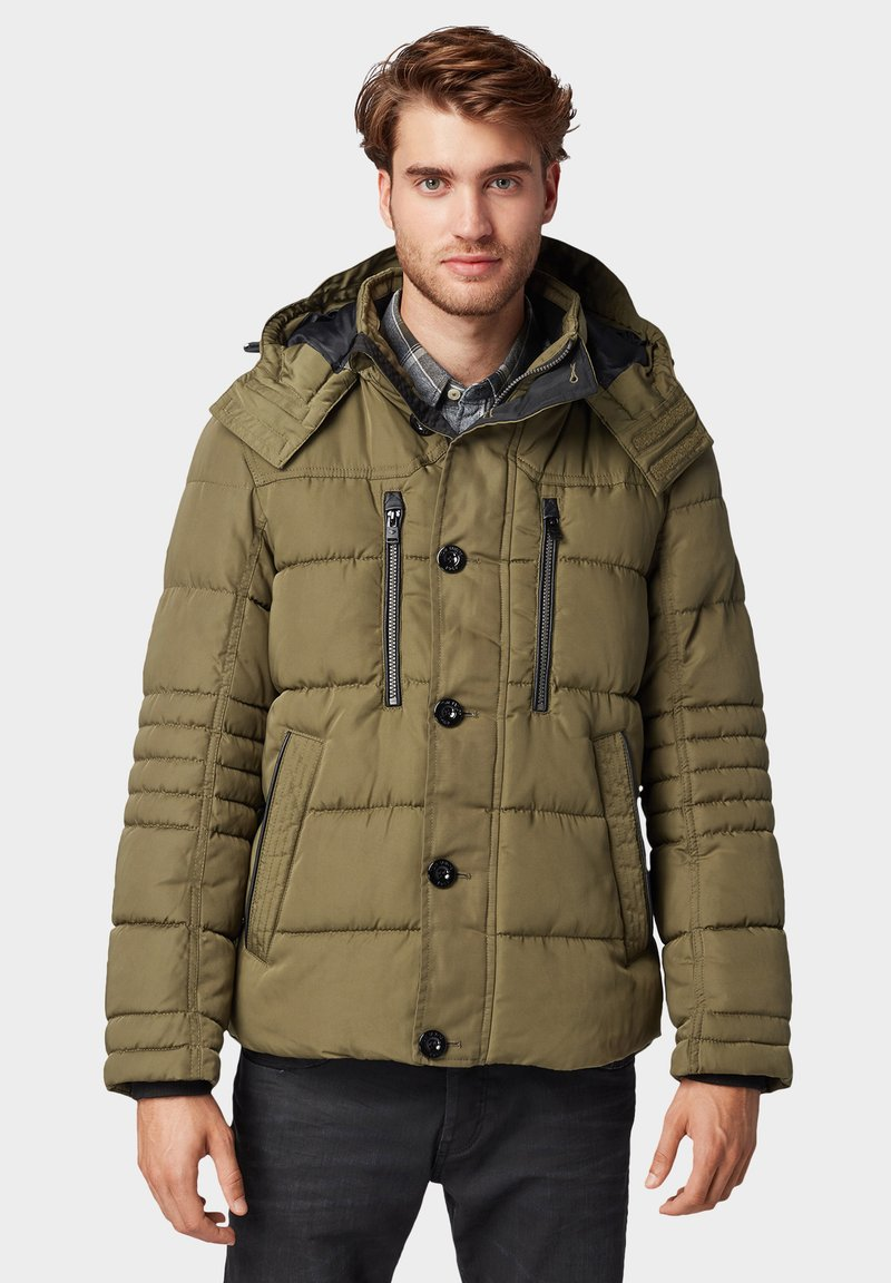TOM TAILOR - PUFFER  - Giacca invernale - olive