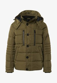 TOM TAILOR - PUFFER  - Giacca invernale - olive - 4
