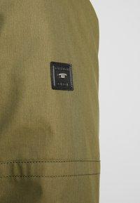 TOM TAILOR - Winter coat - olive drap green - 5