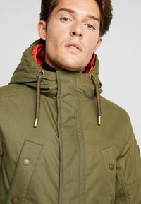 TOM TAILOR - Winter coat - olive drap green - 3