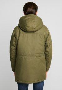 TOM TAILOR - Winter coat - olive drap green - 2