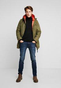 TOM TAILOR - Winter coat - olive drap green - 1