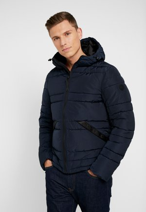 PUFFER JACKET WITH HOOD - Vinterjacka - sky captain blue