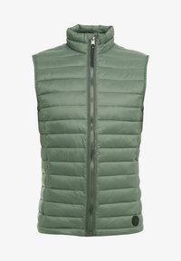 TOM TAILOR - LIGHT WEIGHT VEST - Waistcoat - dark thyme green - 5