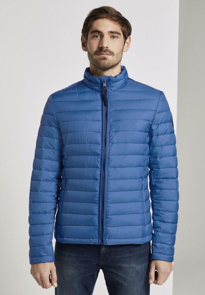 TOM TAILOR - Veste mi-saison - mid blue minimal