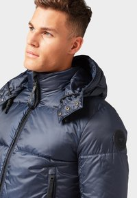 TOM TAILOR - MIT ABNEHMBARER KAPUZE - Giacca invernale - sky captain blue - 3