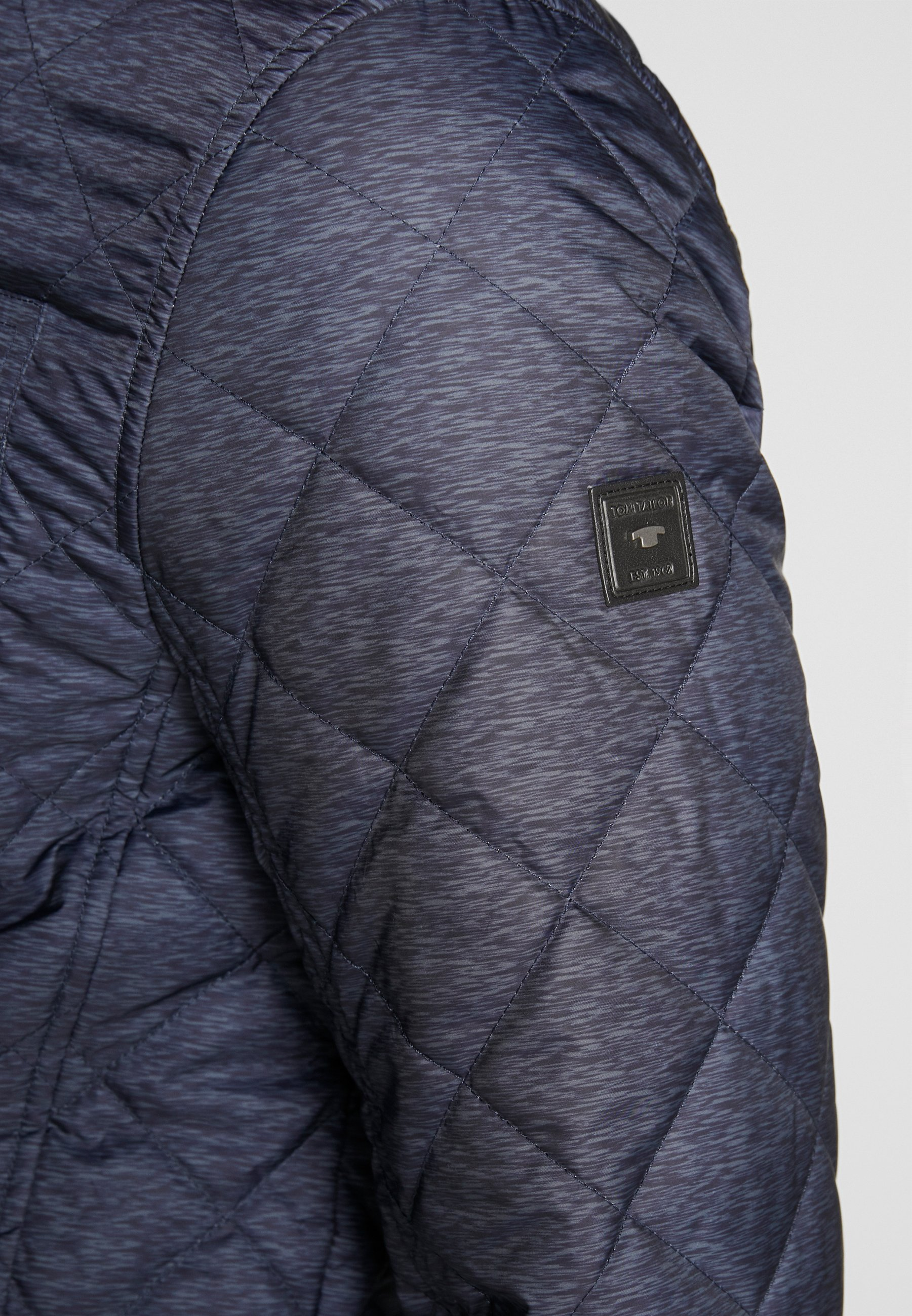 TOM TAILOR QUILTED SHIRT JACKET - Light jacket - blue