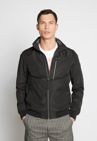 TOM TAILOR - BASIC BLOUSON JACKET - Bomberjacks - black - 0