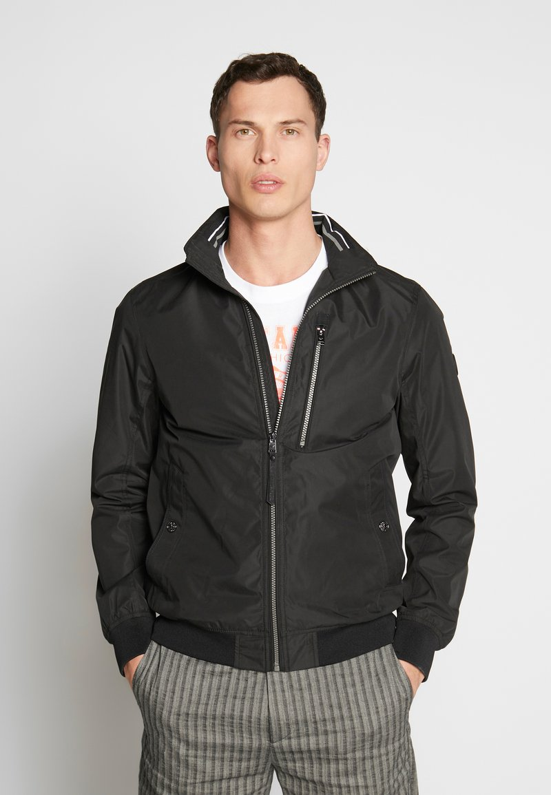 TOM TAILOR - BASIC BLOUSON JACKET - Bomberjacks - black