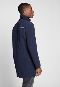 TOM TAILOR - Parka - black iris blue - 2