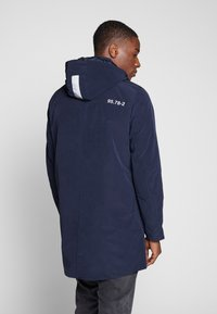 TOM TAILOR - Parka - black iris blue - 3