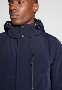 TOM TAILOR - Parka - black iris blue - 5