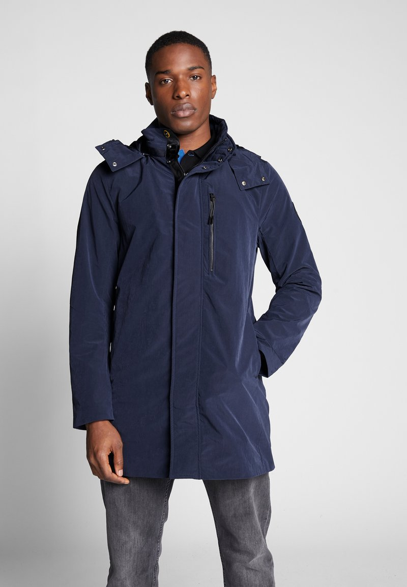 TOM TAILOR - Parka - black iris blue
