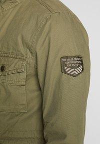 TOM TAILOR - WASHED FIELD JACKET - Summer jacket - olive night green - 4
