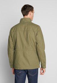 TOM TAILOR - WASHED FIELD JACKET - Summer jacket - olive night green - 2