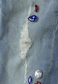 TOM TAILOR - MIT STRASSSTEINEN - Jean slim - blue denim/blue - 3