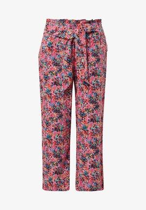 Pantalon classique - shocking pink