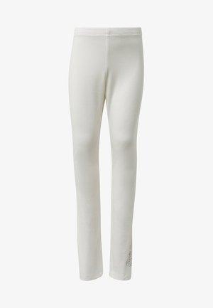 HOSEN - Legging - cloud dancer/white