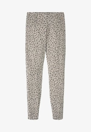 HOSEN & CHINO LEGGINS MIT LEO-PRINT - Leggings - Trousers - pearl blush|rose