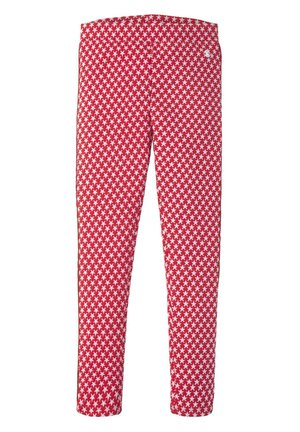HOSEN & CHINO LEGGINS MIT STERNEN-MOTIV - Leggings - Trousers - hibiscus|red