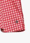 TOM TAILOR - DRESS PATTERNED - Jerseykleid - hibiscus