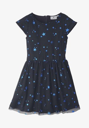 KLEIDER & JUMPSUITS KLEID MIT STERN-MUSTER - Cocktail dress / Party dress - night sky|blue