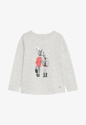 PLACED PRINT - Camiseta de manga larga - lunar rock melange