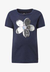 TOM TAILOR - T-shirt print - black iris/blue - 0