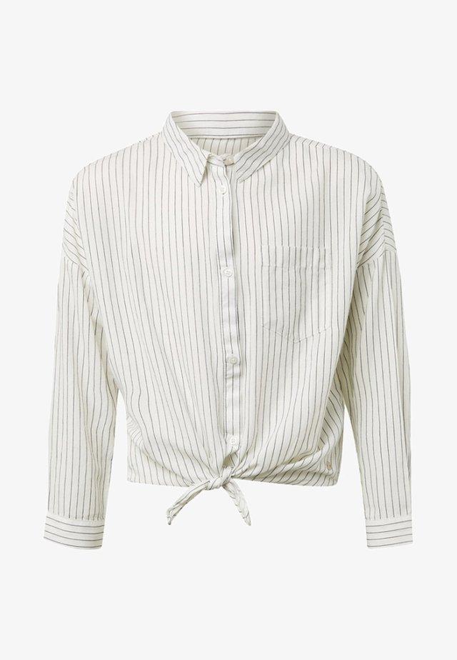 GESTREIFTE - Overhemdblouse - grey