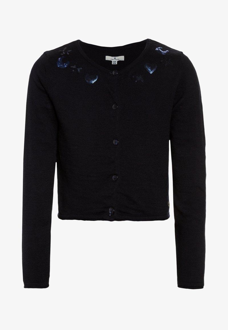 TOM TAILOR - SOLID 1/1 - Vest - real navy blue