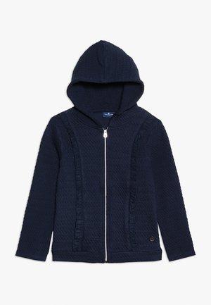 SOLID - Zip-up hoodie - night sky