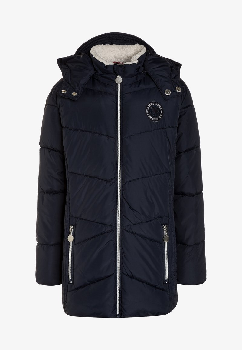 TOM TAILOR - HOOD - Winter coat - total eclipse/blue