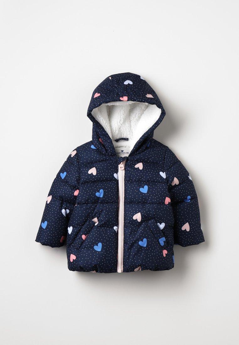TOM TAILOR - JACKET HOOD BABY - Vinterjakker - allover/multicolored