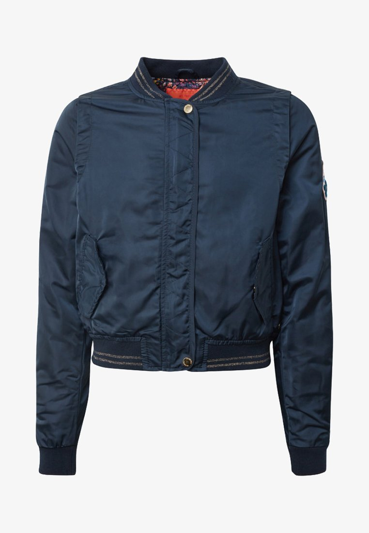 TOM TAILOR - OUTDOOR BLOUSON - Bomber Jacket - blue