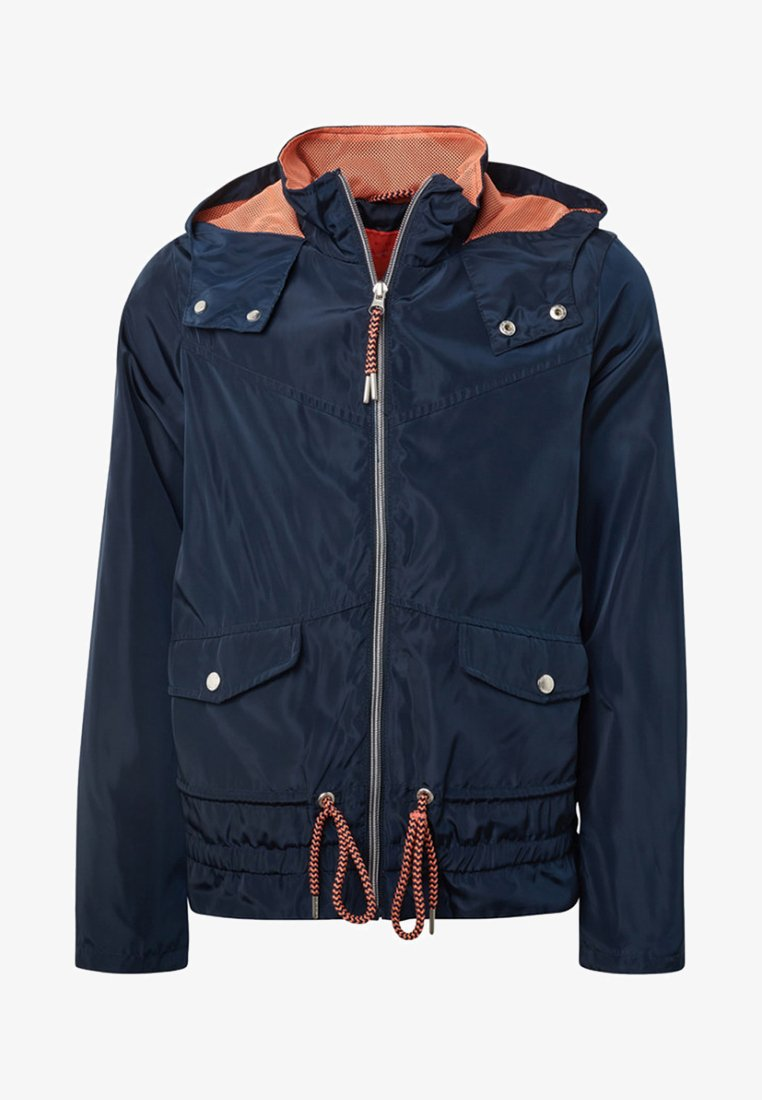 TOM TAILOR - ANORAK MIT KAPUZE - Outdoor jacket - blue