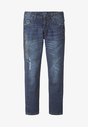 SOLID - Slim fit jeans - dark blue denim